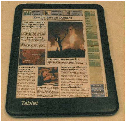 tablet PC van Knight-Ridder